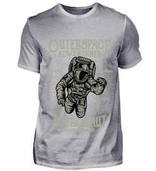Astronaut Weltall Luft Raumfahrt T Shirt