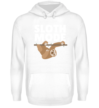 Sloth Mode Lazy Couch Day Funny Gift