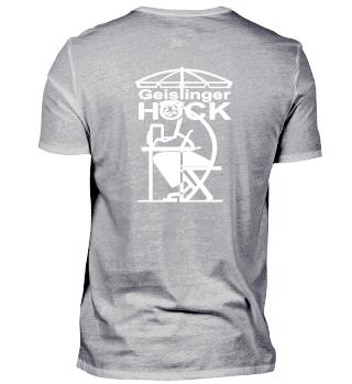 Geislinger Hock, großes Logo hinten, dunkle Materialien