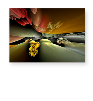 Abstract Landscape Fractal BIRTH I 2
