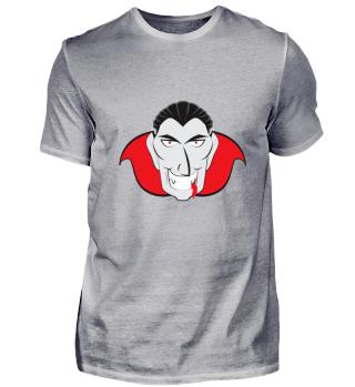 Halloweenmotiv: böser Dracula