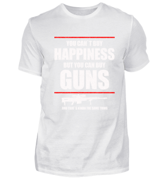 COOL HAPPINESS GUNS HUNTING ARMY GIFT