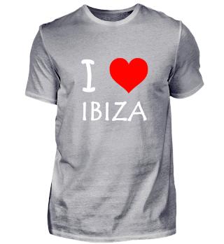 Ibiza Shirt, I love Ibiza