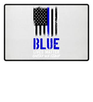 Blue lives matter thin blue line