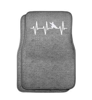 Herzschlag Kampfsport Geschenk EKG