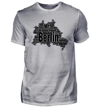 Berlin (Umriss der Stadt Berlin)