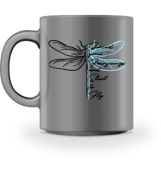 Libellen-Tasse | Dragonfly | Fliegen