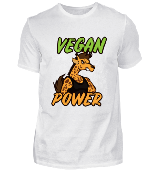Vegan Shirt Giraffe