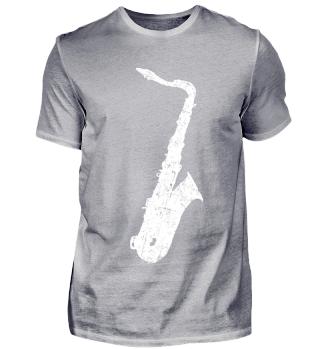 Tenor Saxophon T-Shirts für Musiker