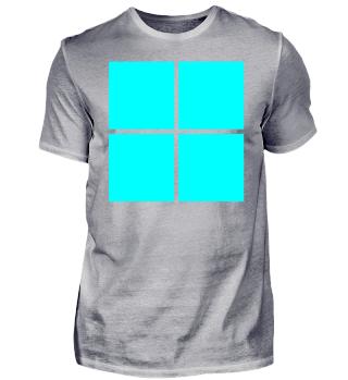 türkises Logo Tshirt Trikot Idee