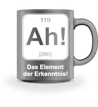 Element der Erkenntnis - Tasse