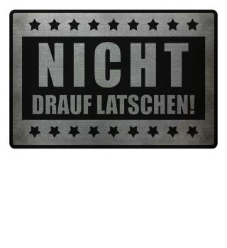 ★ NICHT DRAUF LATSCHEN #2SF