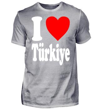 I love Türkiye (Türkei)
