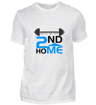 Fitness Gift Shirt Gym Lover Home Tee W