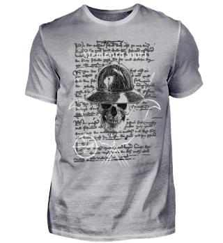 Skull mit Eisenhut