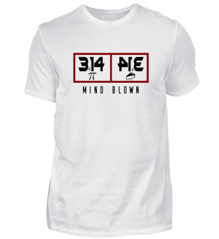 Pi Pie Mathematik T-Shirt Design