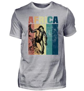 Afrika Affe Wildnis Tier Geschenk