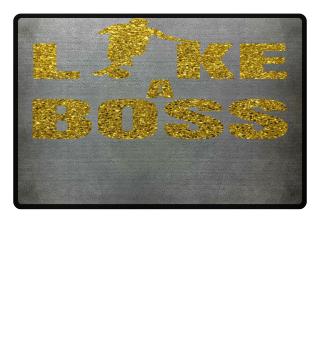 Dribbeln LIKE A BOSS Gold Glitzer