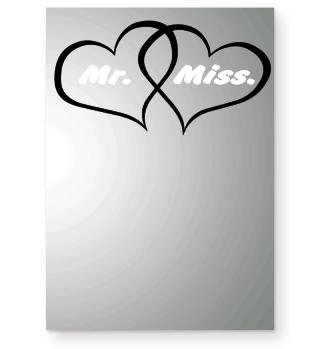 Herzen Liebe Hochzeit MR&Miss