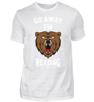 Reading T-Shirt Booklover Bookworm Gift
