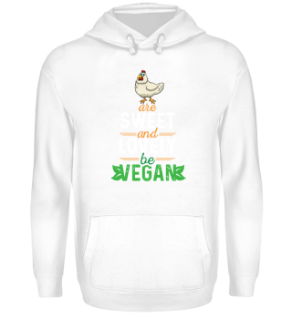 Chicken are sweet and lovely - be VEGAN