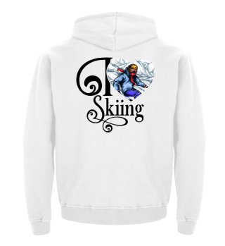 ☛ I LOVE SKIING #1S