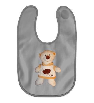 Baby-Lätzchen Teddy
