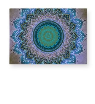 ★ Folklore Lotus Mandala Blue Biolet II