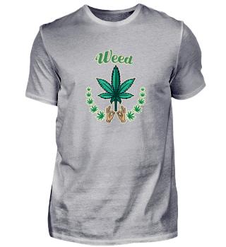 Weed Weed Cannabis Hanf Shirt