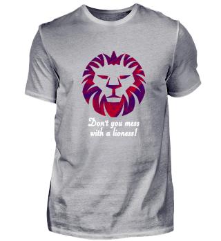 Lioness Protecter Design white