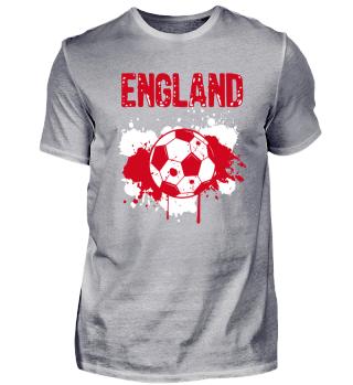 England Meister Fußball Fussball Shirt Fan Geschenk Soccer