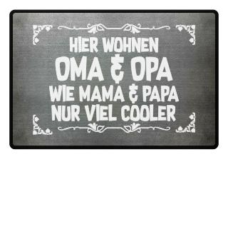 Großeltern: Oma & Opa sind cooler - Geschenk