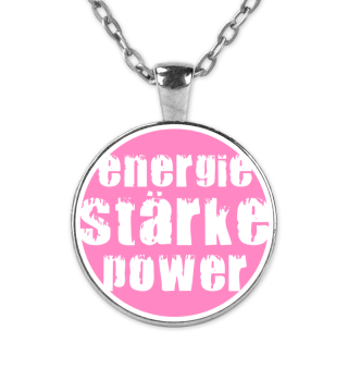 Kette rosa - Energie Stärke Power