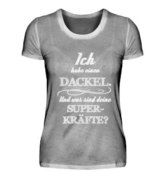 Dackel Superkräfte Dackelfieber