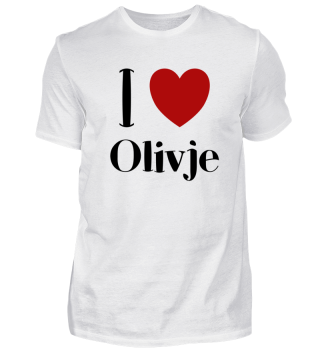 I LOVE OLIVJE - Russian Food Funny Gift
