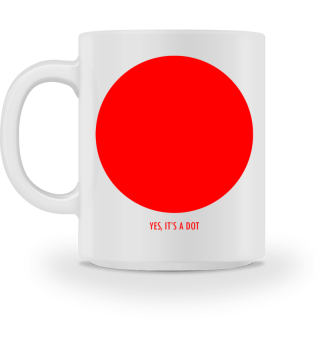 YES ITS A DOT - funny red