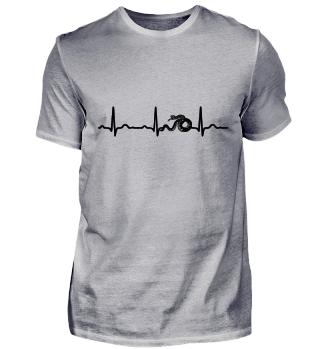 GIFT - ECG HEARTLINE SNAKE BLACK