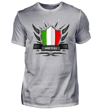 Italien-Italy Proud Wappen Flag 012