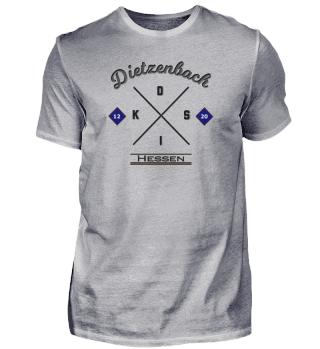 Dietzenbach, Hessen, Lokales Shirt