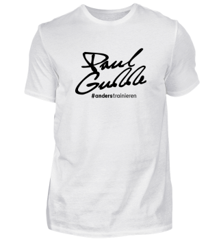 PG   Men's Shirt   #anderstrainieren Basketball BLACK