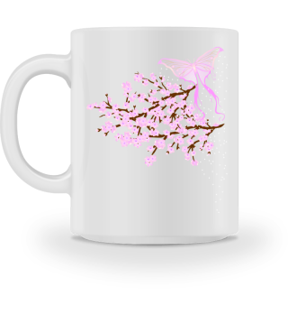♥ Cherry Blossom - Branch Butterfly 3