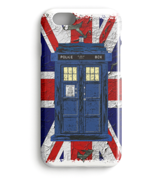 ★ United Kingdom Flag Police Box 1