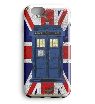 ★ United Kingdom Flag Police Box 1