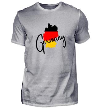 Germany Deutschland Landkarte Geschenk
