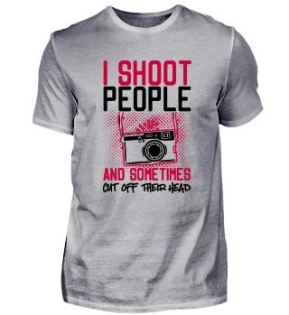 I shoot people - Fotograf Fotografin