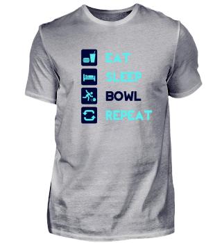 Eat, Sleep, Bowl, Repeat! Gift Idea