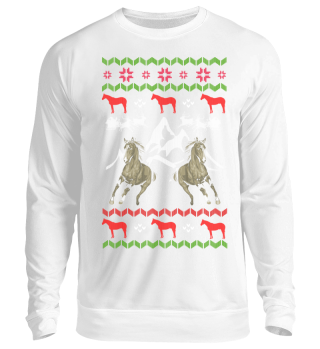 Pferde Ugly Christmas