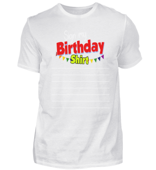 Birthday Sign Outfit Gift Idea