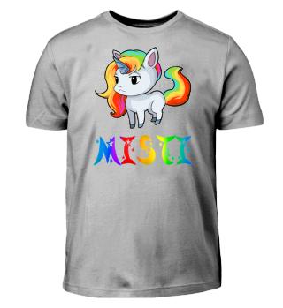 Misti Unicorn Kids T-Shirt