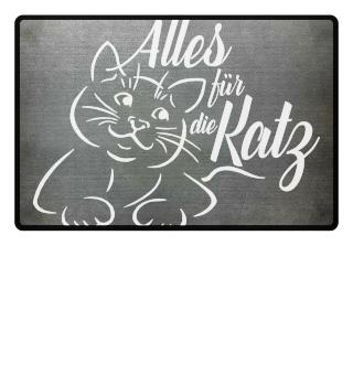 ♥ Alles für die Katz - weiss